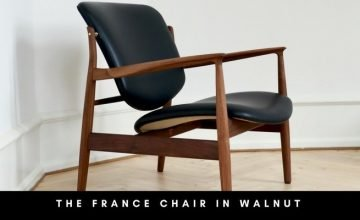france chair in walnut