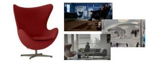 How many of these iconic lounge chairs have you seen in the movies