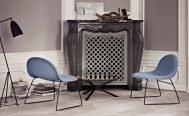 Gubi 3D Lounge Chair in black base