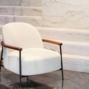 Gubi Sejour Lounge Chair with armrests