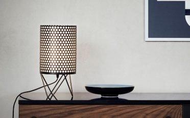 Gubi ABC Table Lamp in Black Semi Matt