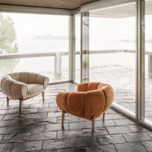 Gubi Croissant Lounge Chair