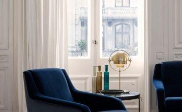 Gubi Multi-Lite Table Lamp in Brass - Danish Design Co Singapore