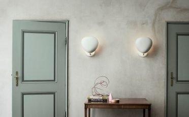 GUBI Cobra Wall Lamp in White - Danish Design Co Singapore