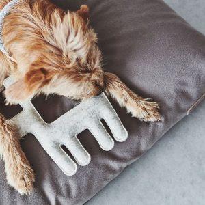 MiaCara Bosco Dog Toy in Natural