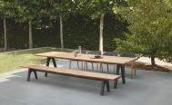 Diphano Pure Outdoor Dining Bench teak- Danish Design Co Singapore