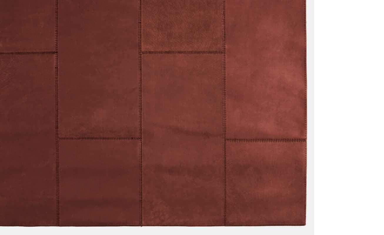 Massimo Copenhagen Leather Rug