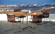 Circle outdoor dining table by Houe - Danish Design Co Singapore