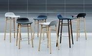 Normann Copenhagen Form Bar Stool - Danish Design Co Singapore