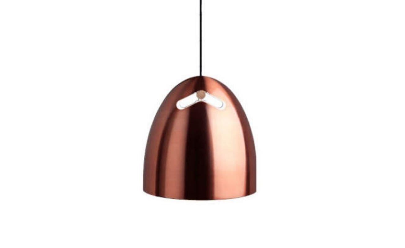 Daroe Bell+ 30 P1 Pendant Lamp - Oak-copper