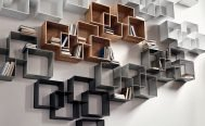 Bolia Storage Quadro Shelves and Bookcase - Danish Design Co Singapore