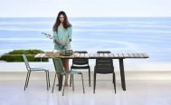 Cane Line Outdoor Furniture - Copenhagen Teak Dining Table Danish Design Co Singapore