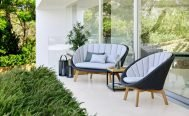 Cane-line Peacock Outdoor Lounge Chair - Danish Design Co Singapore