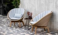 Cane-line Peacock Outdoor Lounge Chair