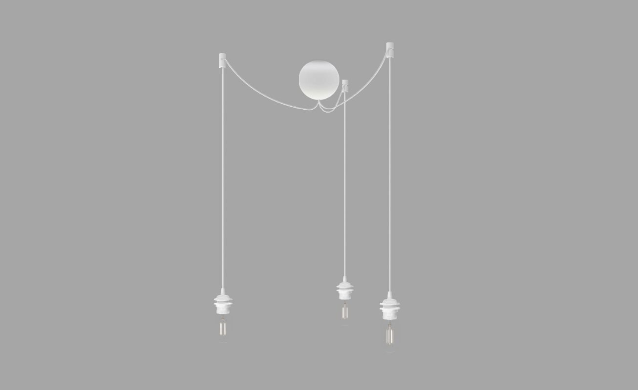 Cannonball Cord for Umage Lampshades - White 5