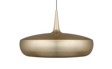 Clava Dine Pendant Lamp in Brass - Umage