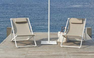 Diphano Alexa Outdoor Folding Beach Chair - Danish Design co 2