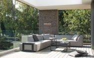 Diphano Outdoor Sectional Outdoor Sofa Footrest Davenport- Danish Design Co Singapore