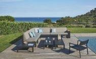 Diphano Landscape Teak Outdoor Modular Sofa - Danish Design Co Singapore