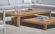 Diphano Natural Outdoor Dining Table - Danish Design Co Singapore