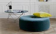 Eilersen Ottoman Footstool Wheel - Danish Design Co Singapore