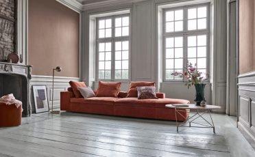 Eilersen Sofa with Open Ends Fatty