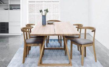 Extendable dining table - Danish Design Co Singapore