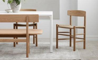 Fredericia Dining Chair Mogensen J39 - Danish Design Co Singapore