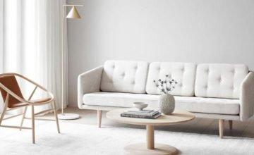 Fredericia sofa no 1 in white - Danish Design Co Singapore