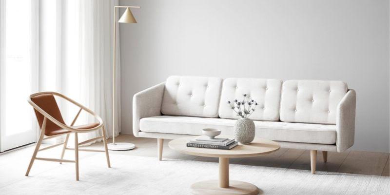 Fredericia sofa no 1 in white