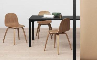 Gubi 2D Dining Chair - Danish Design Co