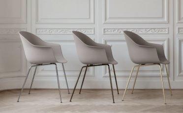 Gubi Bat Dining Chair - Metal Legs - Danish Design Co