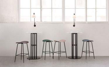 Gubi Beetle Bar & Counter Stool Without Back - Danish Design Co Singapore