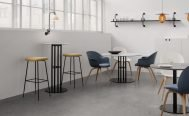 Gubi Beetle Bar Counter Stool without Back - Danish Design Co Singapore