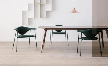 Gubi Masculo Dining Chair - DANISH DESIGN CO