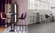 Gubi TS Column Bar Table
