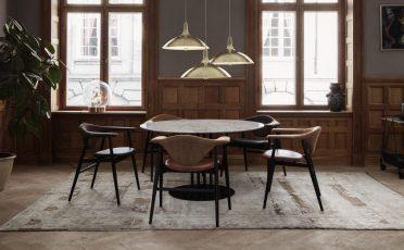 Gubi TS Column Dining Table - Danish design co 3