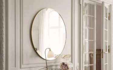 Gubi Wall Mirror - Danish Design Co Singapore