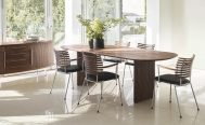 Naver Semi Dining Table - Danish Design Co Singapore