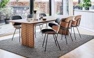 Naver Straight Dining Table - Danish Design Co Singapore