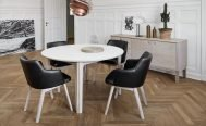 Skovby SM112 Extendable Dining Table - Danish Design Co Singapore