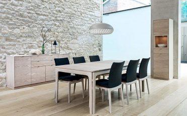 Skovby Extendable Dining Table - Danish Design Co Singapore