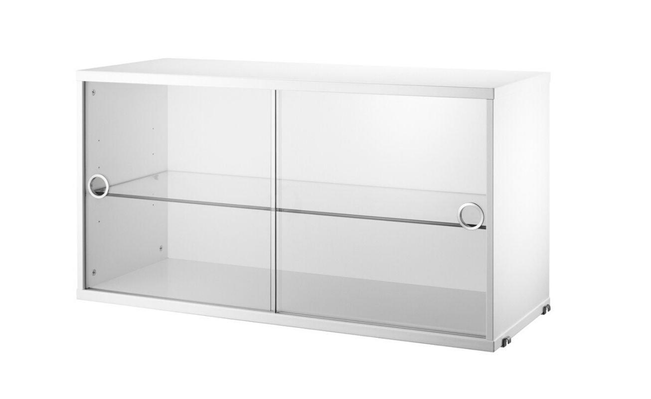 String - Display Cabinet - White