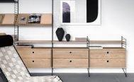 String Magazine Shelf - Danish Design Co Singapore