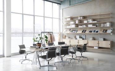 String Work Height Adjustable Desk