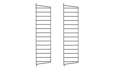 Wall Panel - Black - 75 x 20 (2pcs)