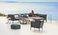 Conic Outdoor Lounge Chair and Sofa in Grey Danish Design Co Singapore