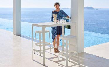 Cane-line Cut Outdoor Bar Table Danish Design Co Singapore