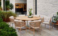 Endless Circle Teak Outdoor Dining Table Danish Design Co Singapore