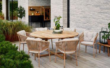 Endless Circle Teak Outdoor Dining Table